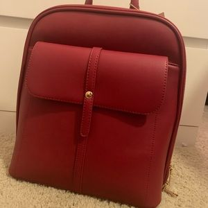 NWT Miztique Structured Red Backpack